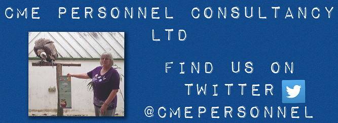 Follow Us on Twitter - @cmepersonnel